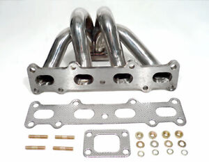For 1994 2001 Mazda Miata Mx 5 Mx5 1 8l T25 t28 gt28 Stainless Turbo Manifold