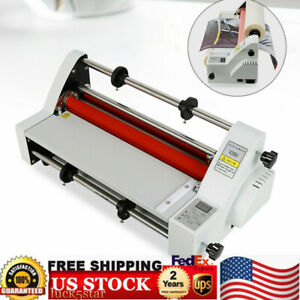 Laminating Machine V350 Laminator Four Rollers Hot Roll Single dual Sided