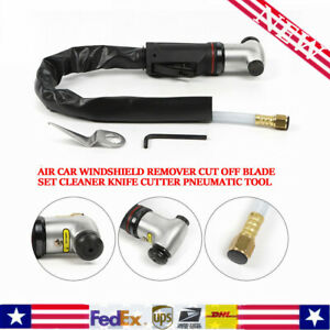 Top Air Car Windshield Remover Knife Pneumatic Scraper Dismantle Glass Sets New