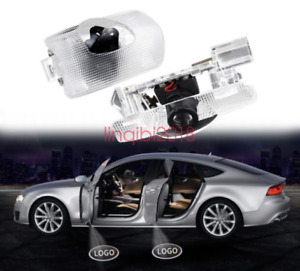 2x Led Door Courtesy Logo Light Ghost Shadow Laser Projector For Toyota
