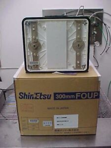 Shin etsu Model Foup 300ex Wafer Carrier Foup 300 Mm 12 New Old Stock