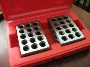 Spi 13 670 5 Precision 1 2 3 Block Set Hardened And Ground Steel With Case