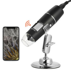 1000x Magnification Usb Digital Microscope With Stand Magnifier 8 led Light S5t8