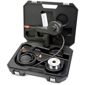 Welding Spool Gun For Soft Aluminum Wire W 10ft Cable Control Harness And Case