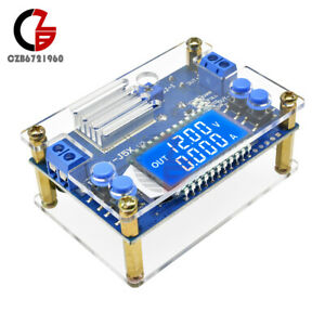 Dc dc 5a Constant Voltage Current Lcd Display Adjustable Buck Step Down Module
