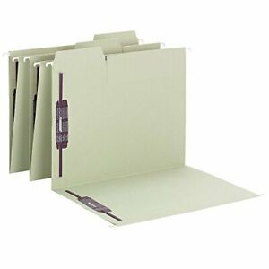 Smead Fastab Hanging Fastener File Folder With Two Safeshield Fasteners 1 3 cut