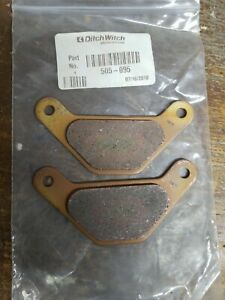 505 095 Ditchwitch Parking Brake Pads