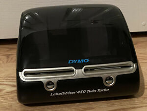 Dymo Label Writer 450 Twin Turbo Label Postage Printer Complete W Paper Rolls