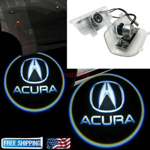 For Acura Rdx 2013 2017 2x Led Laser Door Logo Ghost Shadow Projector Lights