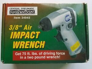 Central Pneumatic Professional 3 8 Impact Wrench New
