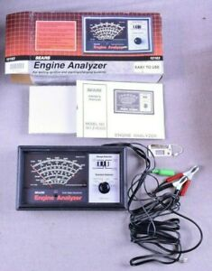Vintage Sears Engine Analyzer Model 161 216300 W Owners Manual Excellent Cond