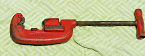 Reed 2 Heavy Duty Pipe Cutter Three Wheel Cuts 1 8 To 2 Pipe Made In Usa