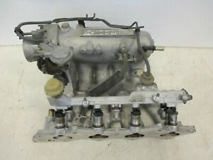 1992 1993 Acura Integra B18a1 M T Intake Manifold W Throttle Body Assy Tested