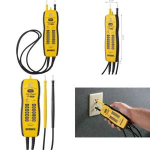 Sperry Instruments Vc61000 Volt Check Voltage Continuity Tester Black Yello