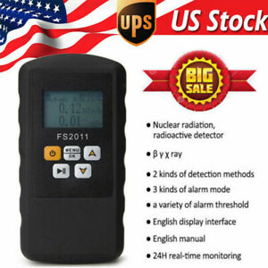 Digital Radiation Detector Nuclear Dosimeter Radiometer Xray Geiger Counter