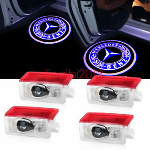 Led Door Courtesy Light Ghost Shadow Laser Projector For Mercedes Benz 4pcs