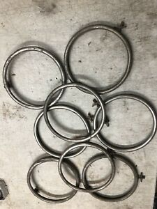 Ford Model A Headlight Rings 1928 1929