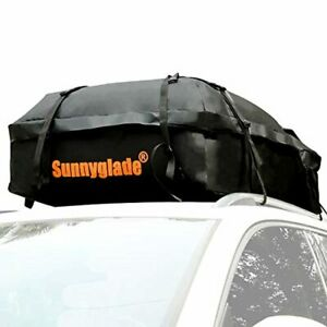 Sunnyglade Waterproof Roof Top Cargo Bag 15 Cubic Feet The Car Top Carrier Bag F