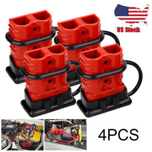 4x175a Battery Quick Connect Wire Harness Plug Disconnect Winch Connector Kit Us
