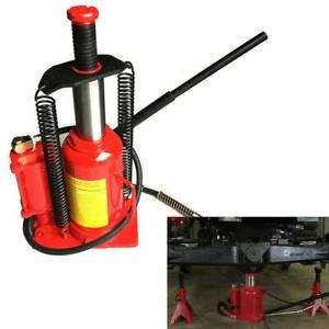 20 Ton Hydraulic Air Jack Stands Power Car Truck Automotive Shop Tool