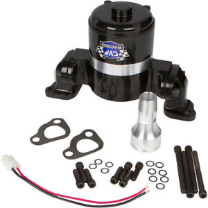 Black Big Block Chevy Electric Water Pump 390 427 454 Ewp Bbc High Volume Flow