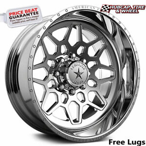 American Force Ckh03 Orion Concave Polished 22 X14 Wheel 8 Lug Set Of 4