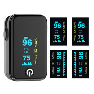 Oled Heart Rate Fingertip Pulse Oximeter Spo2 Blood Oxygen Monitor Saturation Ce