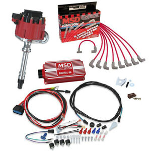 Msd 8362 Street Fire Chevy Hei Distrib Ignition Kit 6201 31199