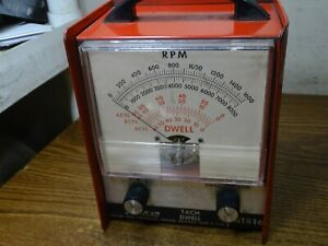 Snap on Meter Tach Dwell Mt816