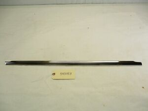 1959 1960 Chevy 4 Door Wagon Driver Side Rear Door Beltline Belt Line Trim Oem