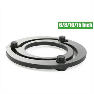 Jaw Boring Ring Steel 6 8 10 15 3claw For Cnc Lathe Chuck Improve Accuracy
