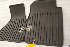 New Oem 2011 2013 Dodge Ram Quad Regular Cab Brown All Weather Slush Front Mats