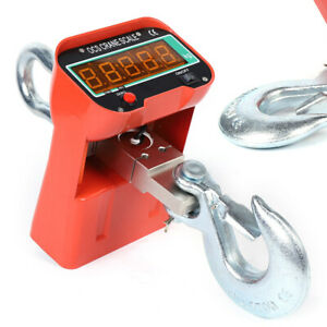 3t Crane Scale Industrial Hanging Scale 9v 1 5a High Quality New