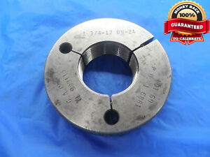 1 3 4 12 Un 2a Thread Ring Gage 1 75 No Go Only P d 1 6881 N 2a Quality Tool