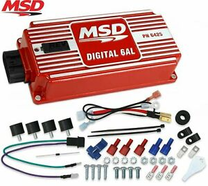 Msd 6425 6al Ignition Box Digital 6al With Rev Limiter Sbc Bbc Sbf Chevy Ford