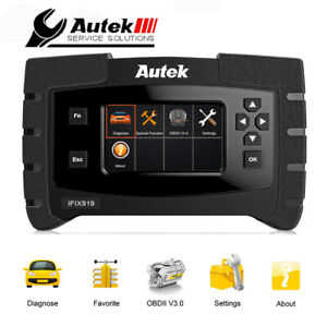 Automotive All Systems Obd2 Diagnostic Scanner Engine Abs Srs Tpms Epb Scan Tool