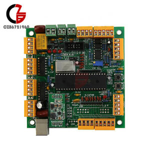 4 Axis Usb Cnc Controller Interface Board Cncusb Usbcnc 2 1 Substitute Mach3 Kit