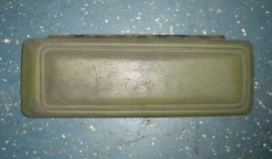 1970 Ford Galaxie 500 Floor Console Lid With Hinge And Latch