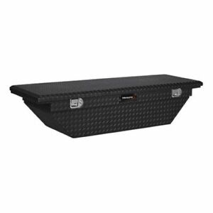 Trailfx 120702 Truck Tool Box Crossover Single Lid Black 69x19x13 5 W Tray