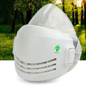 Reusable Breathable Protection Emergency Gas Mask Respirator Filter Chemical New