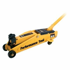 Performance Tool W1611 2 1 4 Ton Trolley Jack Blow Case New