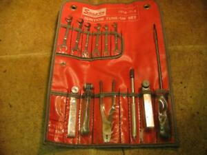Snap On 2011c It K Ignition Tune Up Set Wrenches Pliers Feeler Gauge Allen