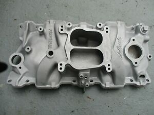 Edelbrock Intake Manifold aluminum for Small Block Chevy