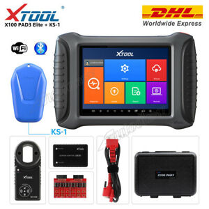 Xtool X100 Pad3 Elite With Ks 1 Immo Key Programmer Odometer Diagnostic Scanner