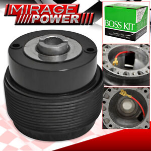Steering Wheel 6 Hole Bolt Hub Adapter Jdm Racing For 84 04 Ford Mustang Non Gt