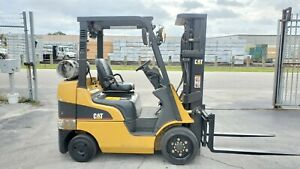 Caterpillar Forklift 8000 Lbs Cat Gc40kstr Box Car Special Low Hrs