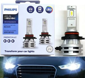 Philips Ultinon Led G2 6500k White H12 Two Bulbs Fog Light Replacement Upgrade
