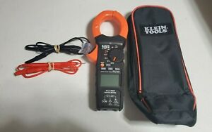 Klein Tools Cl900 Multimeter 2000a Digital Clamp Meter Barely Used Mint Cond