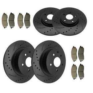 Rear Brake Disc Rotors For Gmc Sierra 2500hd 2001 2002 2003 2004 2005 2wd 4wd
