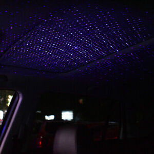 Usb Star Light Led Projector Car Interior Atmosphere Star Sky Lamp Ambient